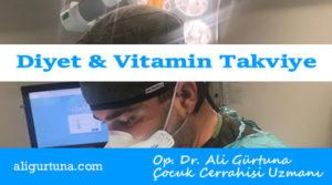 Çocuklar için diyet vitamin takviyesi