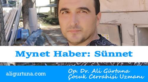 Mynet Haber: Sünnet için ilk 4 hafta