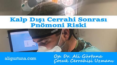 Kalp dışı cerrahi sonrası pnömoni riski hesaplama programı