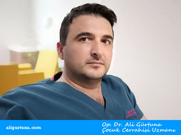 Op. Dr. Ali Gürtuna, Çocuk Cerrahisi Uzmanı