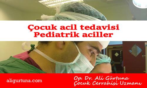 Çocuk acil tedavisi, Pediatrik aciller