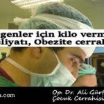 Ergenler için kilo verme ameliyatı, Obezite cerrahisi